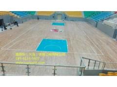 大连运动木地板篮球场厂家,运动木地板价格 三年质保