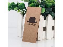 智彤印刷厂 帽子吊牌 免费设计打样 厂家直销