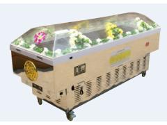 供应仙宫冰棺,车载冰棺,瞻仰棺,手提冰棺,骨灰轿