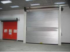 北京厂家直销复合钢质防火卷帘带小门