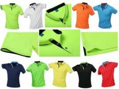 批發拼色領男式POLO衫,純棉廣告衫,短袖休閑廣告T恤衫