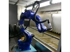 陶瓷花盆自动喷漆机械臂