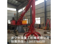 济宁抓钢机 配置高端 各种规格抓钢钳中瑞机械厂