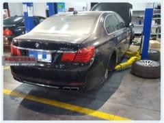 奔驰730li气门室盖变形漏油