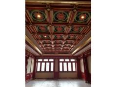 江陰海瀾之家四合院GRG雕花板吊頂項目