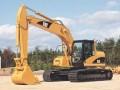 夹江轮式挖掘机租赁信息 出租质量上乘的沃尔沃240型挖土机