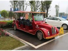 品牌好,质量硬,选择广西台骏8人座5KW免维护观光老爷看房车