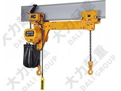 供应1吨3米HHBB运行式同步双吊点环链电动葫芦
