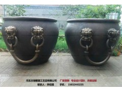 铜缸制作-铜塑制作-文禄
