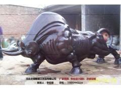 铜牛制作-铜牛雕塑厂家-文禄
