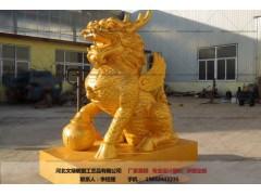 铜麒麟-雕塑制作-文禄