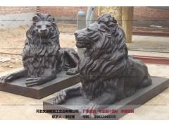 铜狮子-雕塑厂家-文禄