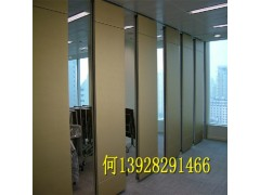 會議室辦公室隔音活動隔斷墻 移動推拉屏風軟包木板隔斷