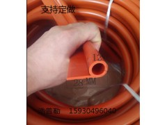 硅胶P型条 耐高温 烘箱烤箱蒸汽密封条 硅胶9字密封条