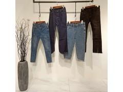 广州哪里有女装牛仔裤折扣尾货一手货源