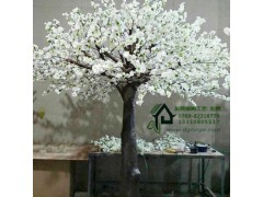 高品质仿真桃花树哪里有卖-佛山仿真桃花树定做