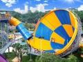 高空大喇叭滑梯,水上乐园设备