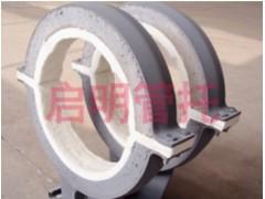 启明保温供应优质的高效型隔热管托——管道支吊架