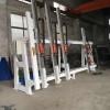 林泽通机械专业的铝木窗框组合机出售——实木框架组框机