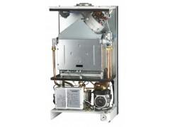 煤改气工程用燃气壁挂炉家用采暖洗浴锅炉两用锅炉20-40KW