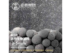 中勁第三代活性生物濾料(水處理生物掛膜 環保新免燒陶粒)