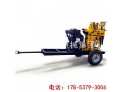 巨匠XYX-130水井钻机 柴油液压轮式钻井机械设备小型