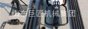 華夏巨匠取土鉆機QTZ-1手持式地質勘探設備便攜式工程鉆機