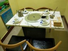 厂家直销酒店火锅餐桌电动餐桌手动桌酒店大圆桌酒店餐桌椅子