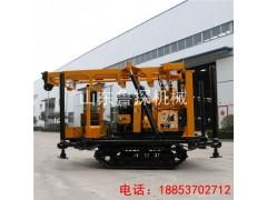 山东巨匠XYD-200履带式勘探钻机 省时省力的液压工程钻机