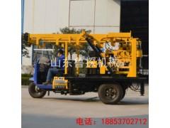 开着就走的钻探机就选鲁探XYC-200A三轮车载岩心钻机