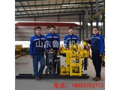 HZ-130Y液压岩芯钻机 山东巨匠130米地质勘探钻机设备