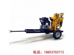 华夏巨匠带拖杠的地质勘探钻机XYX-130轮式液压岩芯钻机