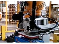 廠家供應全自動盒裝電池碼垛機械手 碼垛機器人