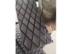 滾筒包膠菱形橡膠板,耐磨橡膠板,長城橡膠工廠直供