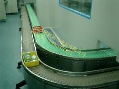 S型转弯网带输送机,链板输送线,板链输送线