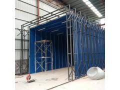 伸縮移動噴漆房 廢氣處理設備 成本低 用途廣