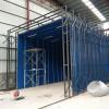 伸缩移动喷漆房 废气处理设备 成本低 用途广