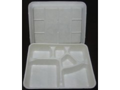 純淀粉全降解快餐打包盒桶生產流水線