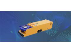 上川智能單驅單向型agv小車廣泛用于3C制造家電服裝物流行業