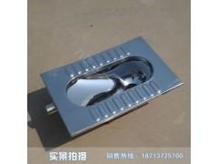 监狱用不锈钢蹲便器采用304优质不锈钢节能环保 脚踏式冲水