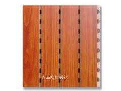 青岛影厅阻燃木质吸音板酒店墙面槽木隔音板宾馆防水木质隔音板