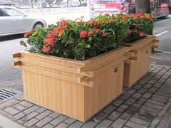 塑木花箱,河南定制塑木花箱,河南塑木花箱厂家