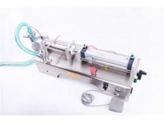 德阳绵阳沃发麻椒油定量灌装机 海鲜汁定量液体灌装机