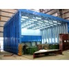 伸缩移动喷漆房废气处理环保设备厂家