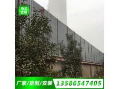 江蘇工廠機器設備聲屏障消聲板隔音屏鐵路隔音墻隔音效果