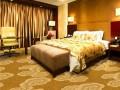 郑州中式餐馆地毯图案风格定制五星级酒店走廊地毯