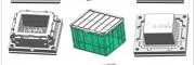 做塑胶模具厂塑料折叠箱模具名牌