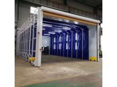 临沂专业生产折叠推拉篷 伸缩房 抛丸房系列大全