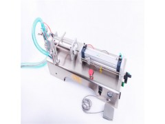 WF-DY麻椒油定量灌装机大名县海鲜汁灌装机