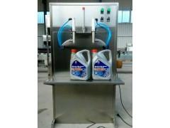 泰安袋装洗衣液灌装机 鑫儒弈双头洗化用品灌装机
